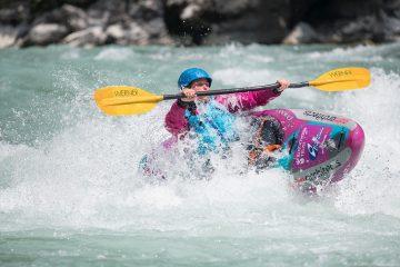Kayak for Blackthorn action shot