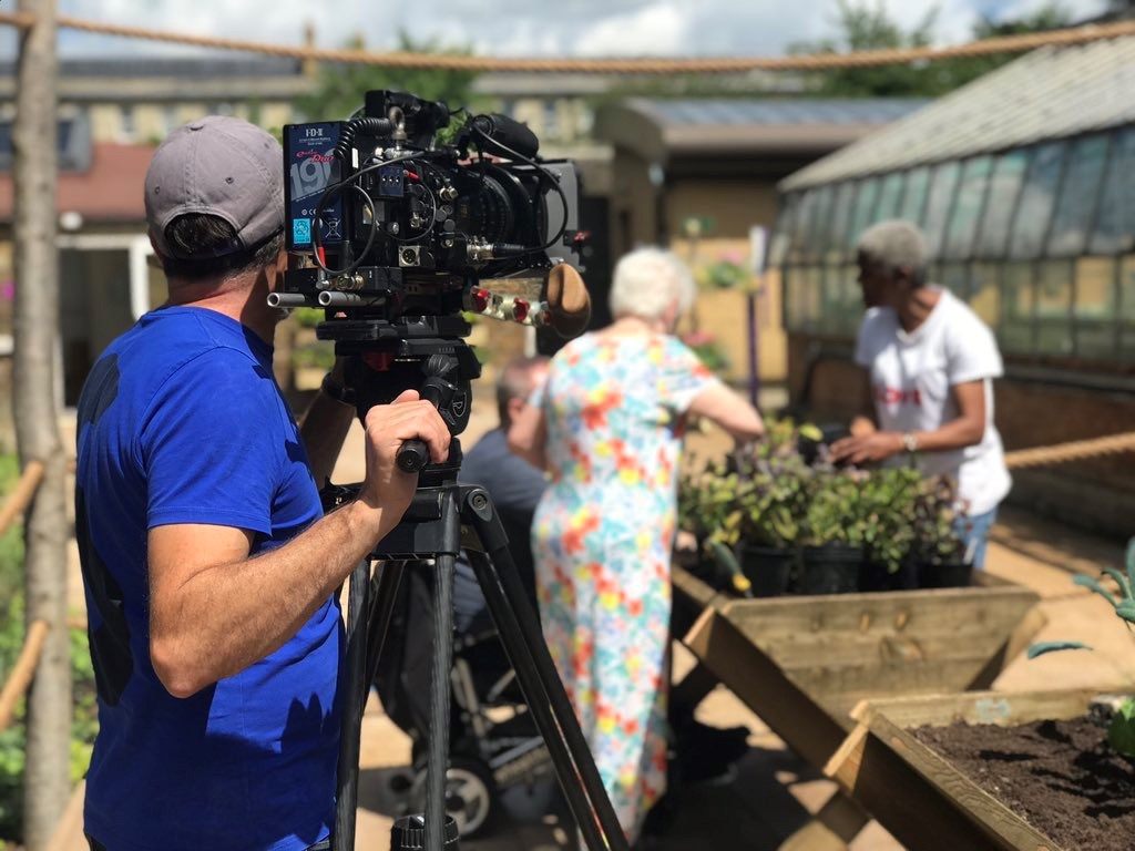 Gardeners World filming