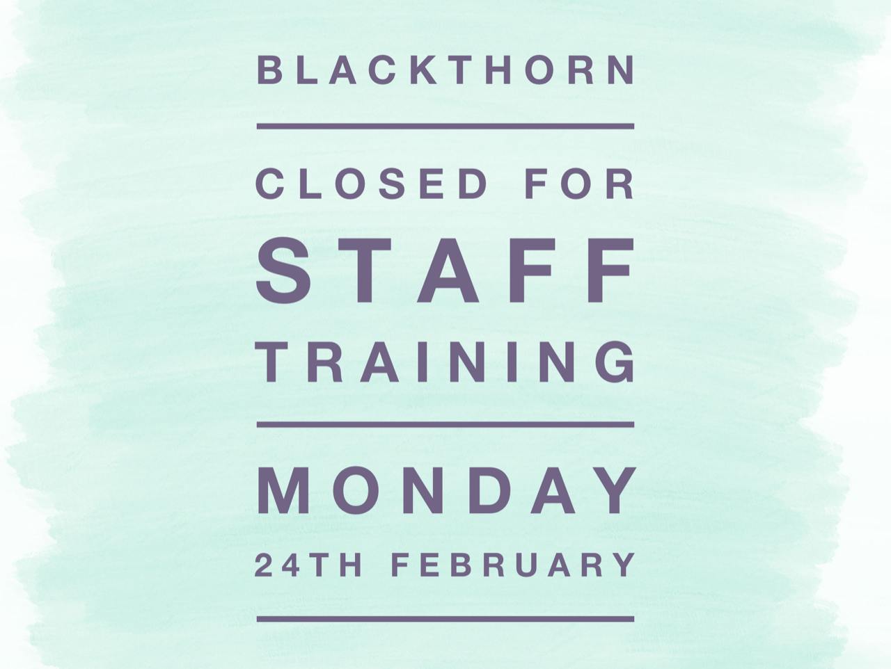 BT closed 24.02