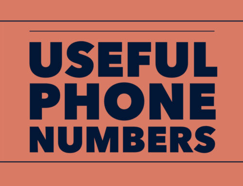 Some useful phone numbers