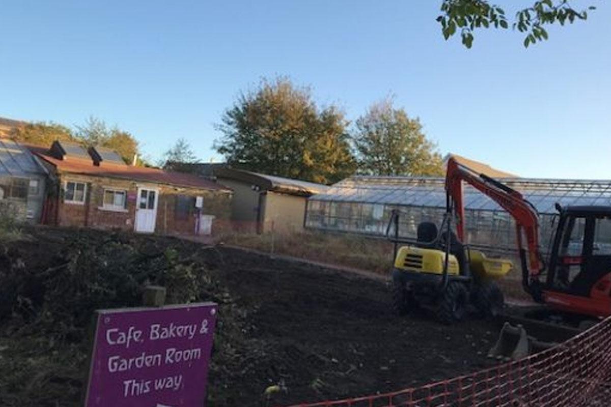 Healing Minds Garden Build Begins